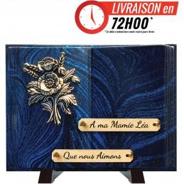 Plaque Funéraire Livre...